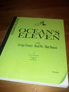 Ocean's Eleven Script